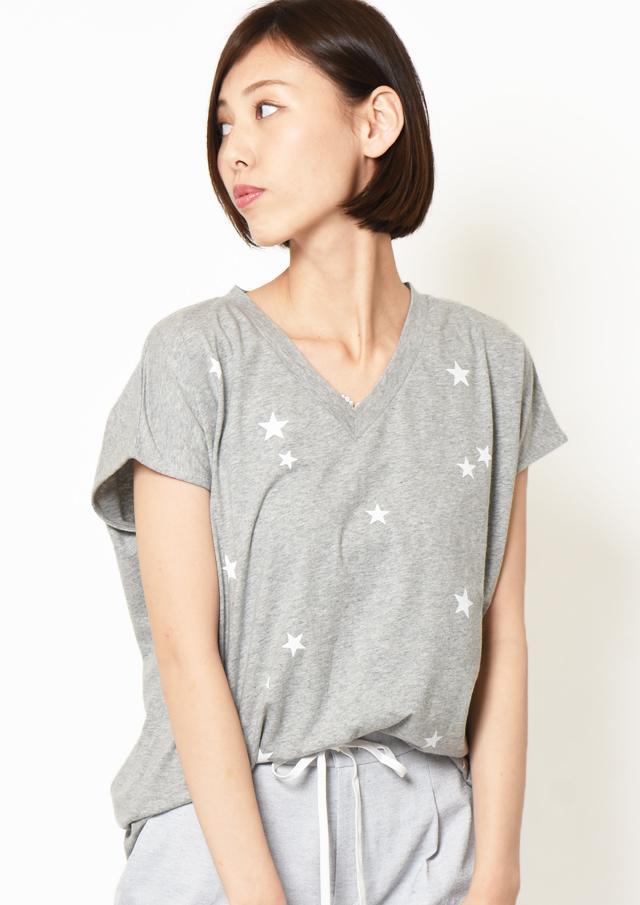 【2019】スタープリントTシャツ【H7921008】【27】