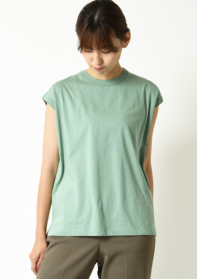 ◇◆サイロプレミアム天竺フレンチスリーブTシャツ【H812919】【26】
