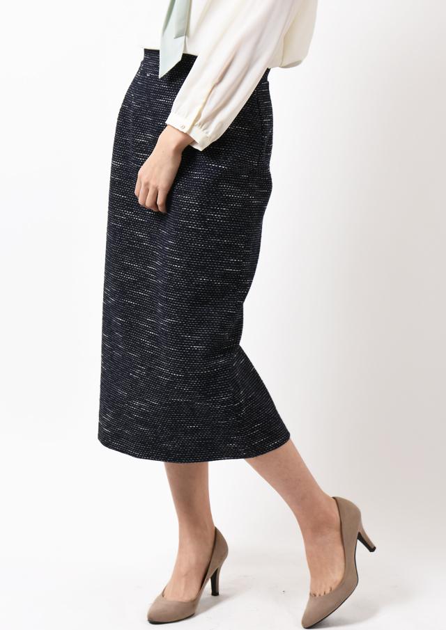 ◇◆マットスラブツイードタイトスカート【H8206502】【26】