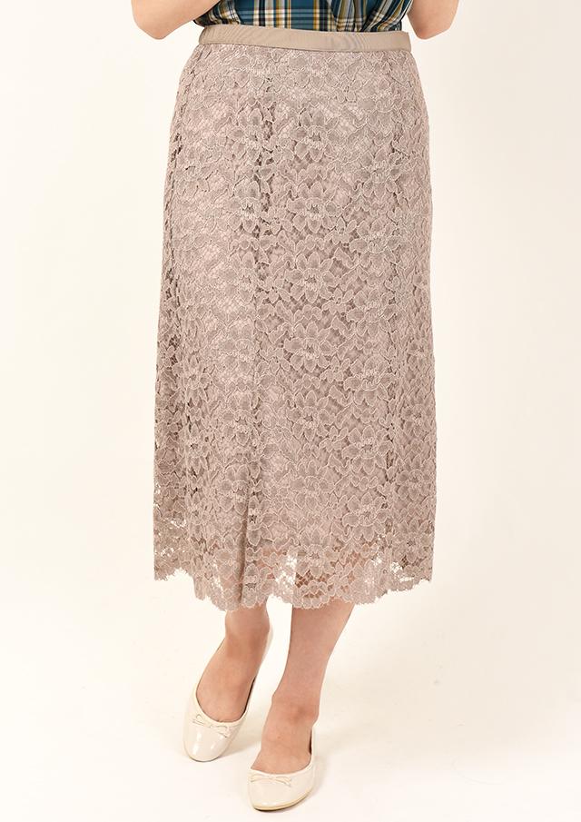 SALE!!【2020】コードレースマーメイドスカート【H896146】【26】