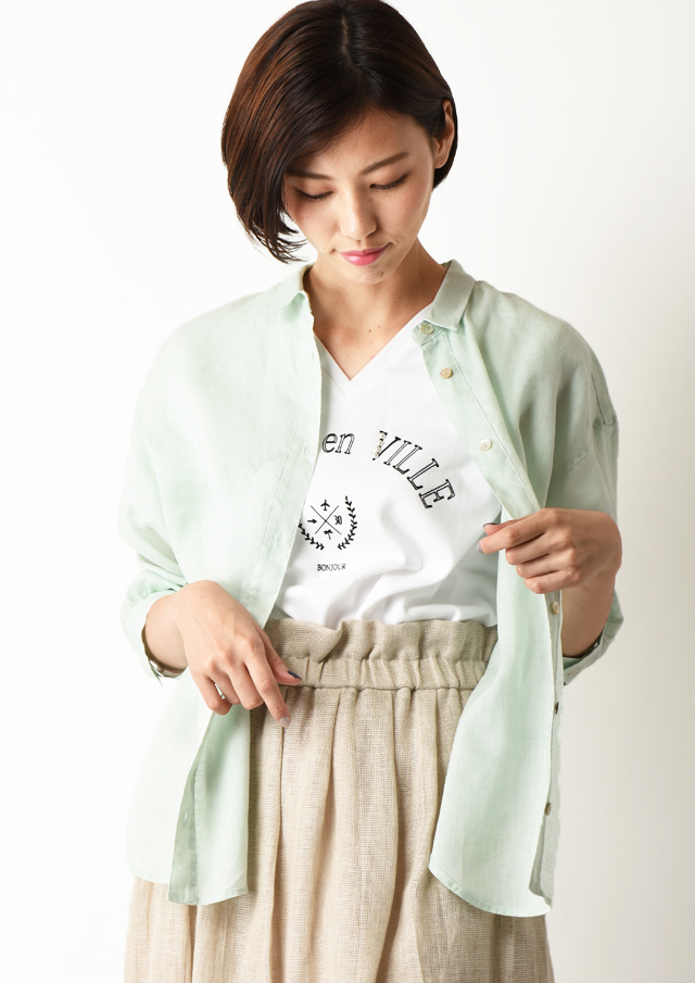 SALE!!【2020】テレデランリネンオーバーシャツ【HB050011】【26】