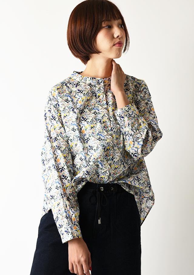◆リバティバンドカラーオーバーシャツ【HB050505】【26】