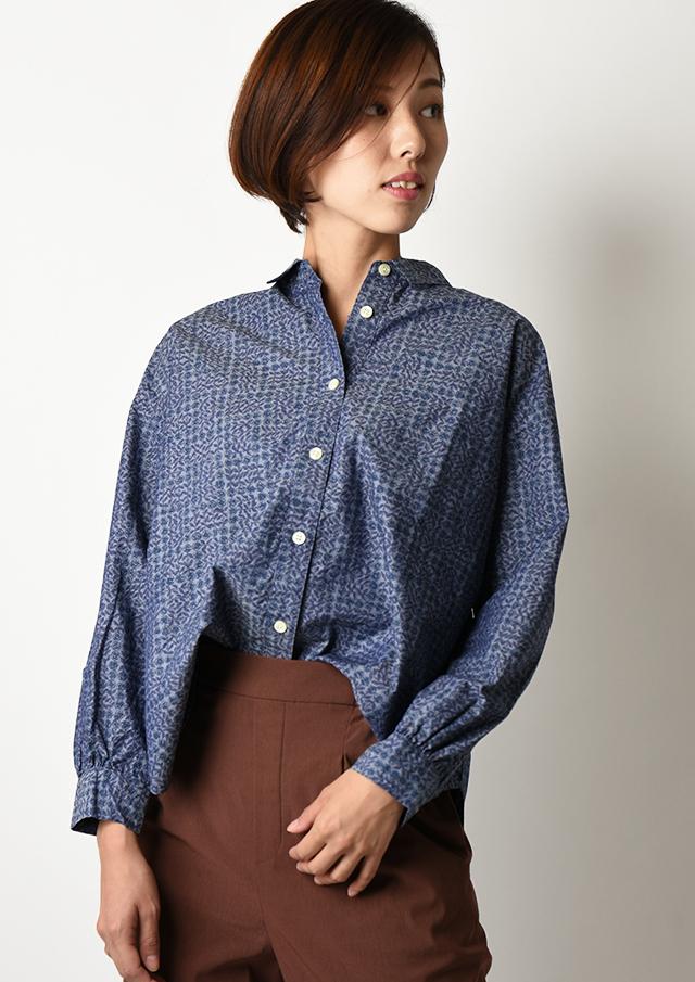◆リバティシャンブレーオーバーシャツ【HB050508】【26】