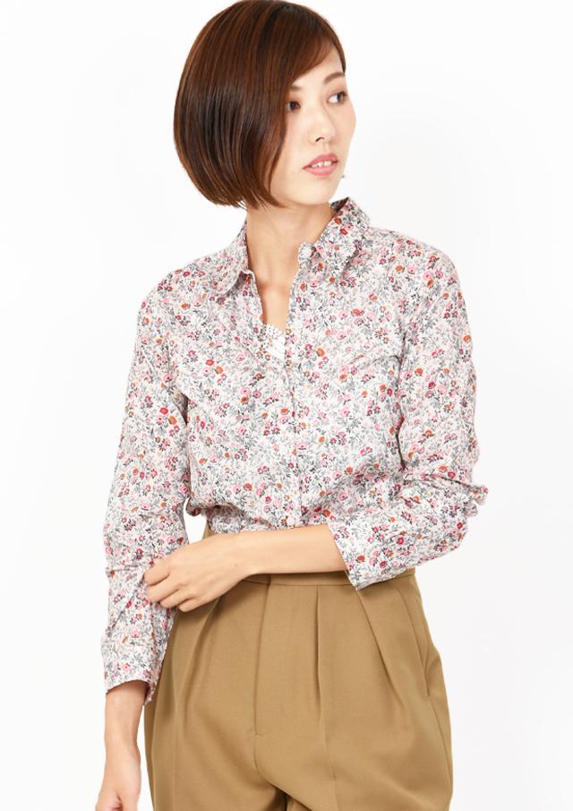 【2019】リバティレギュラーシャツ【HB059503A】【26】