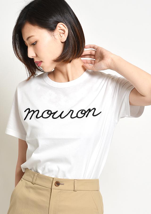 【2019】32天竺ロゴ刺繍Tシャツ【HB079002】【26】