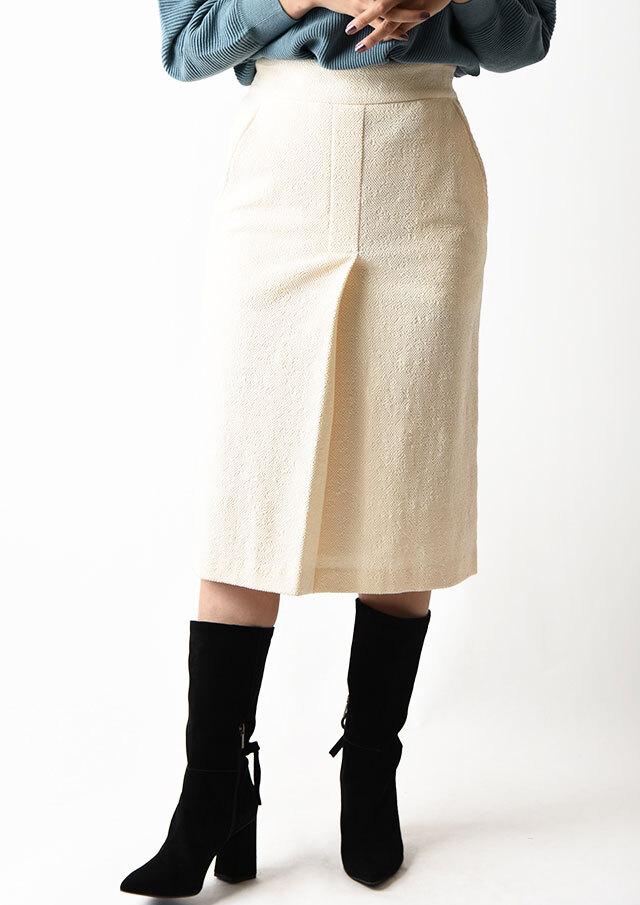 ◇◆コットンジャガードタイトスカート【HB086003A】【27】