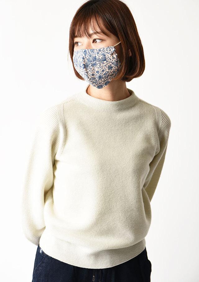 ◆マスクケース付きリバティプリントマスク【HB101000】【26】【返品不可】