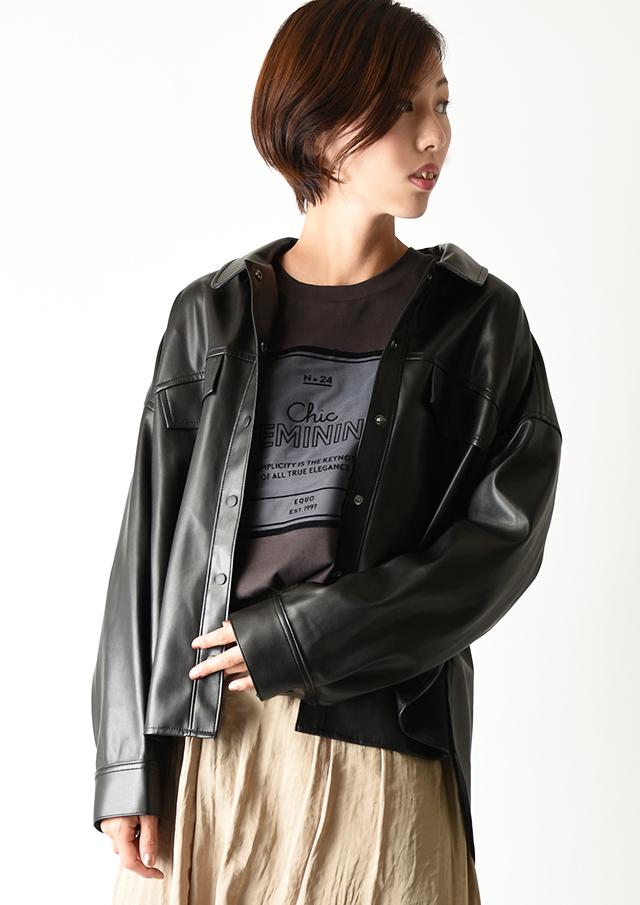 【2020】フェイクレザーCPOジャケット【HJ4021】【26】