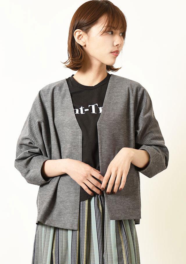 ◇◆ドライオックスノーカラードルマンスリーブジャケット【HU2184】【26】