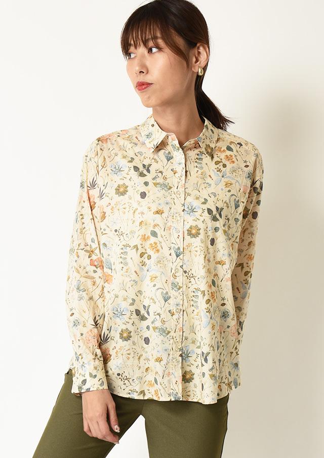 ◆リバティプリントリラックスシャツ【HW051502】【61】