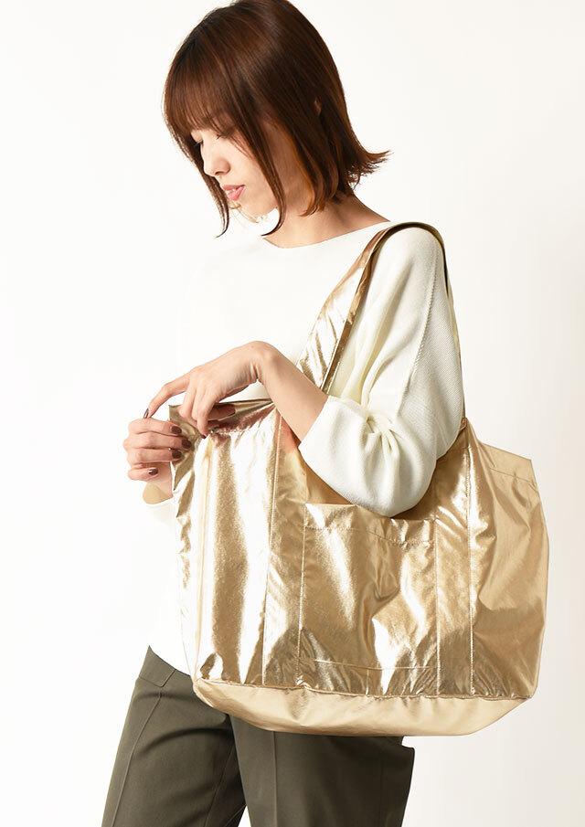 ◆シャイニーソフトトートバッグ【HZ3043】【26】