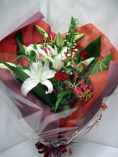 花束 ユリ グロリオサ [B-5000-5]
