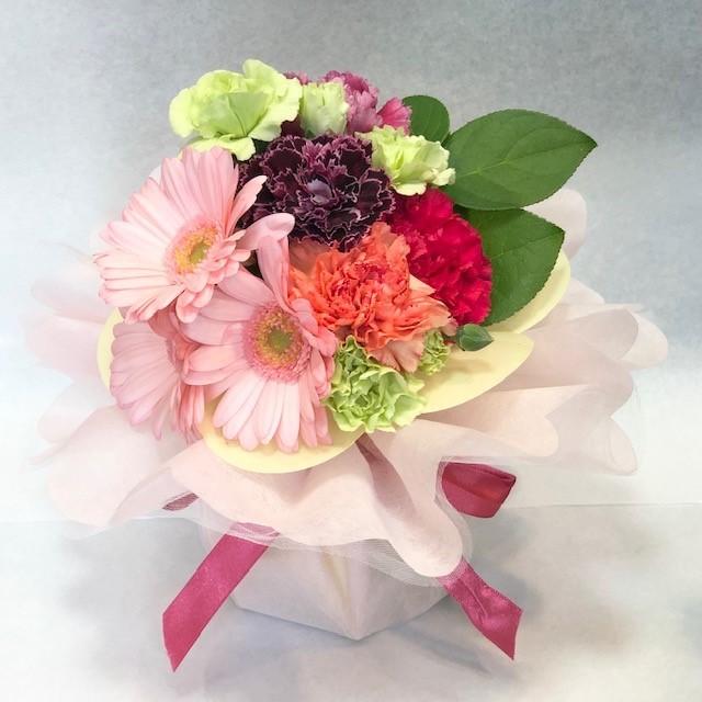 母の日 ブーケアレンジメント ピンク [HA-3000-3]