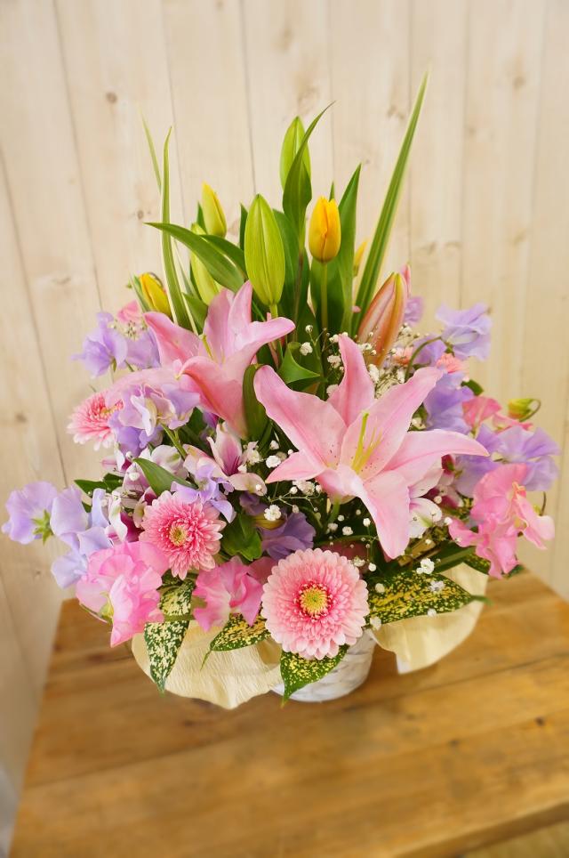 お仏壇の前に飾る花 Mサイズ 洋花のみ