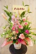 ロマンチックパレット☆アレンジ・ピンクユリ☆