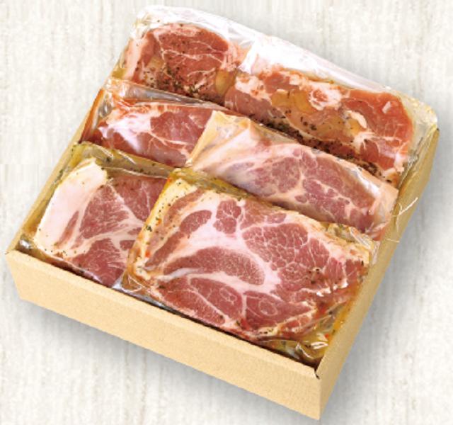 【波奈のお中元・送料無料】スモークハウスファイン 肩ロース3種の味付けセット