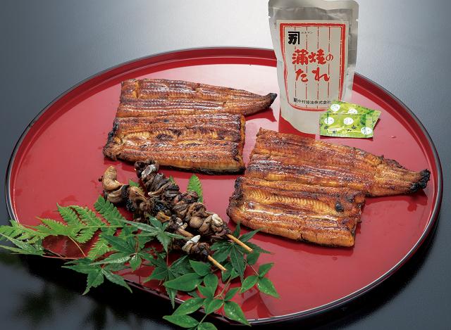 【送料無料】波奈のお取り寄せ うなぎの蒲焼(国産)と肝焼き