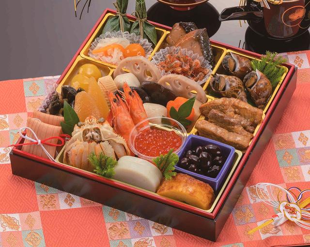 【送料無料】波奈のおせち一段重 輝(かがやき)