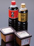 【波奈のギフト・送料無料】今野醸造 吟醸醤油味噌セット