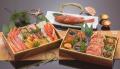 【送料無料】波奈の冷凍おせち二段重+きんき姿煮 北海(ほっかい)