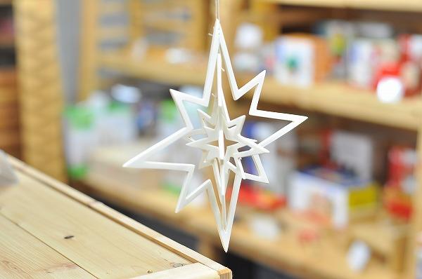 クリスマスインテリア ヴァルトファブリック社(Waldfabrik) 星の結晶モビール星