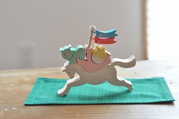 五月人形 遊プラン・小黒三郎 走れ!馬乗りかぶと童子