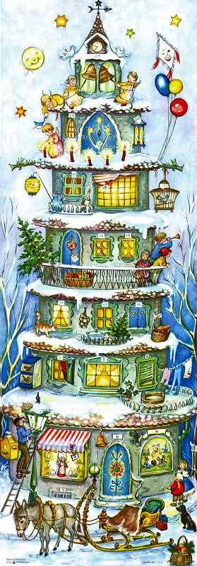 アドベントカレンダー・クリスマスキャッスル