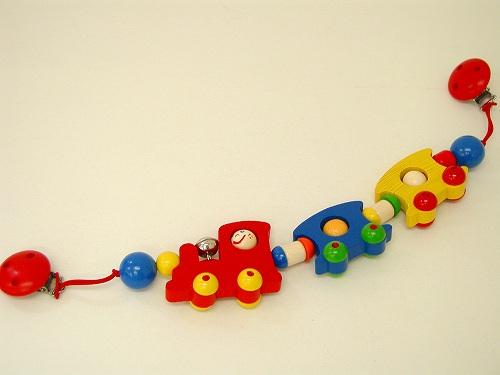 ベビーカーのおもちゃ ハイメス社(HEIMESS) べビーカーチェーン・汽車