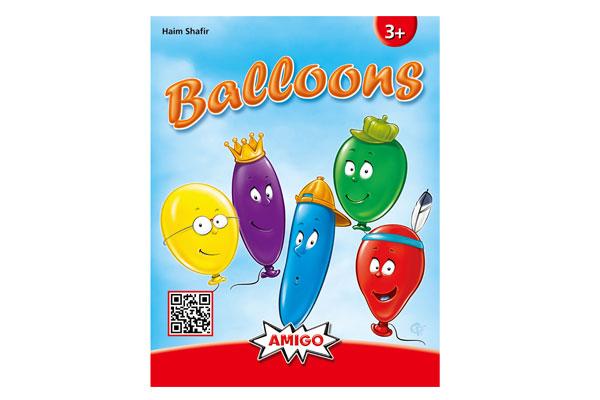【メール便可】 カードゲーム・3歳~ アミーゴ社(AMIGO) バルーンズ