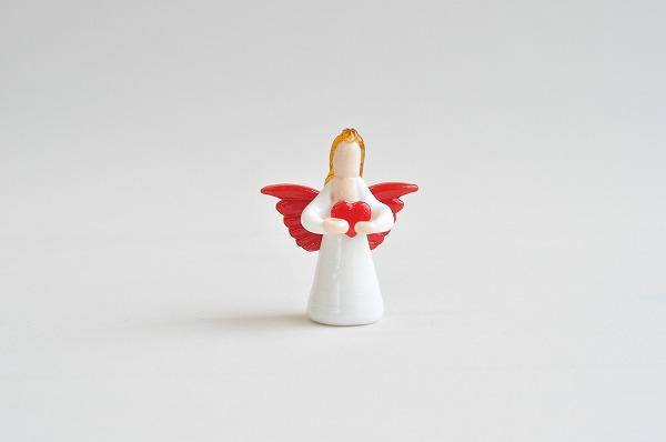クリスマスインテリア カーサボニータ アートオブグラス社 グラスエンジェル