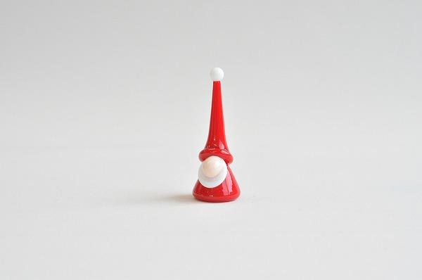 クリスマスインテリア カーサボニータ アートオブグラス社 グラスサンタ