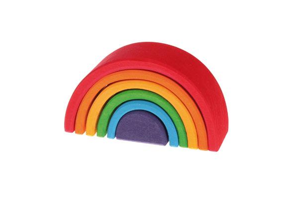 積木 グリム社(GRIMM'S) アーチレインボー(虹色トンネル)・小