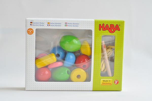 ひも通し ハバ社(HABA)  バンビーニビーズ・ドリーム