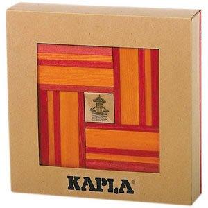 カプラ KAPLA® ブック付きカラー 赤セット