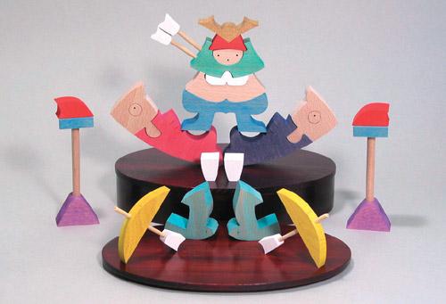 五月人形 遊プラン・小黒三郎 楕円鯉武者