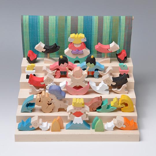 五月人形 遊プラン・小黒三郎 里山円武者五段飾り