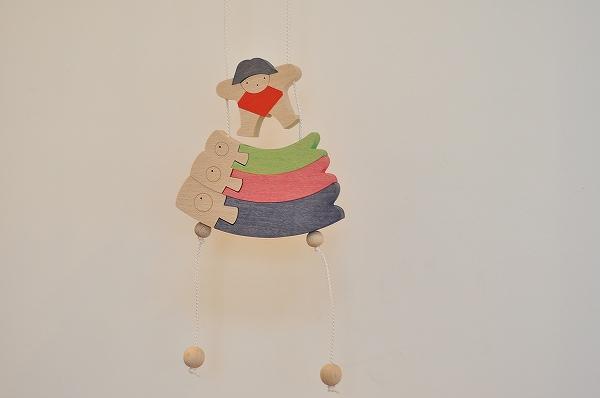 五月人形 遊プラン・小黒三郎 昇り人形 鯉のぼりと金太郎