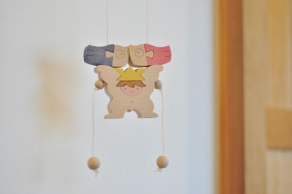 五月人形 遊プラン・小黒三郎 昇り人形 鯉持ちかぶとと童子