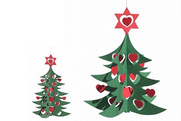 クリスマスインテリア リビングリー社(Livingly) モビール クリスマスツリー