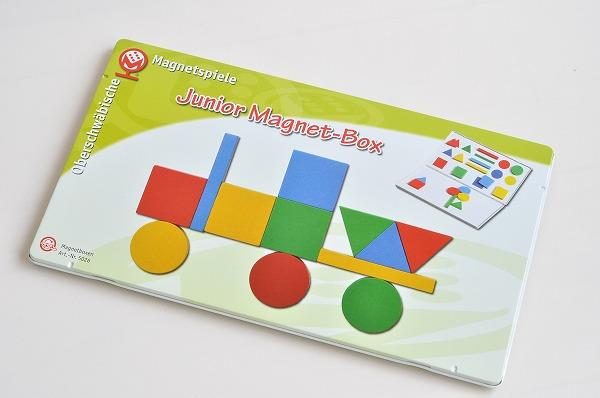 マグネットのおもちゃ マグネットシュピーレ社(Magnetspiele) 缶入りマグネットJr
