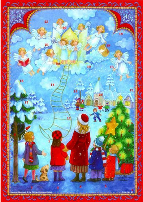 アドベントカレンダー・天使のはしご