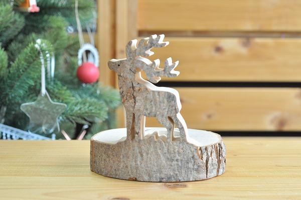 【クリスマスセールで15%引き】 クリスマスキャンドル ヴァルトファブリック社(Waldfabrik) キャンドルスタンド・トナカイ