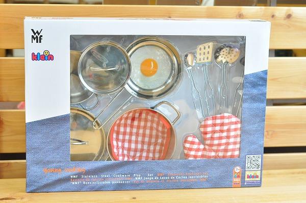 ままごと・調理器具 WMFメタルおなべセット