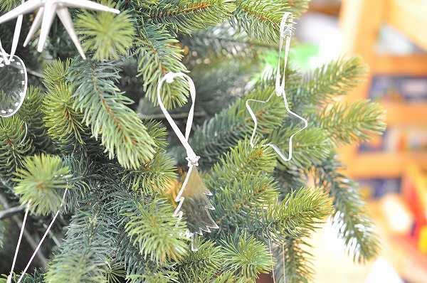 木のおもちゃHANAオリジナル クリスマスオーナメント単品 アクリル