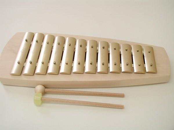 鉄琴 アウリス社(AURIS) シェルズグロッケン・ダイヤトニック12音