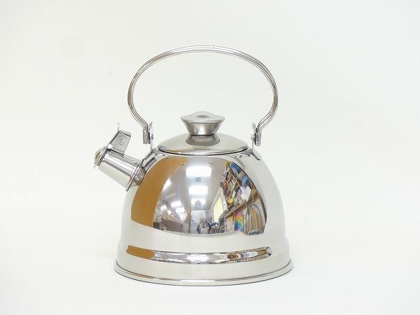 ままごと・調理器具 ケーファー社(Gluckskafer)  ステンレスケトル