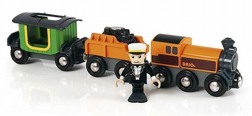 汽車のおもちゃ ブリオ社(BRIO) スチームトレインセット