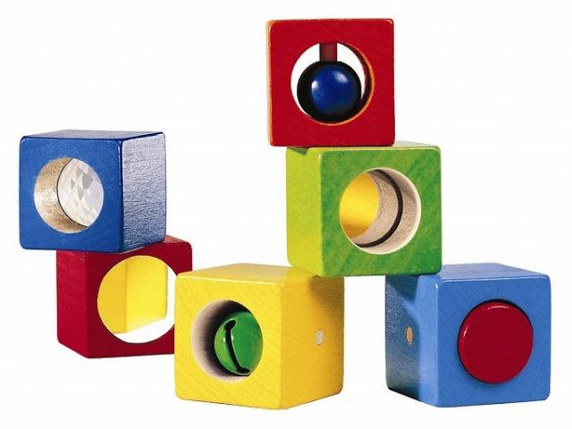 形を楽しむおもちゃ ハバ社(HABA) ベビーブロック・ディスカバリー