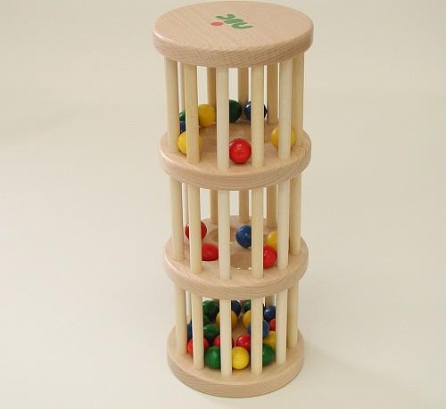 動きを楽しむおもちゃ ニック社(NIC) ドラム玉おとし