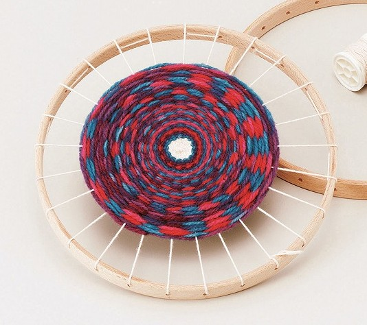 ウールマニュファクチャー、フィルゲス社(Woll-Manufakuture,Filges) 円型織り機